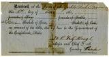 Zirkle Lohr receipt for crops, 1863 [digital]