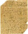 Cadet John B. Strange letter, 1840 [digital]