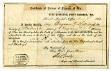 Benjamin Holliday Civil War Parole Document [Digital]