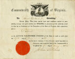 Samuel Garland Civil War Commission Document [Digital]