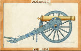 Cannon, 1880 [drawing]