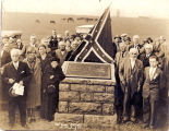 Battle of New Market veterans and local citizens at New Market Battle Monument, New Market VA, 1926