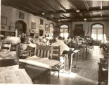 1907 Library Building interior, showing Reading Room, ca. 1930