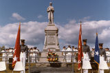 New Market Battlefield cermony transferring 54th PA Infantry Regt. monument, September 16, 1984